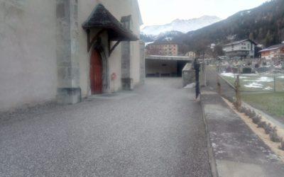 Chapelle funéraire de Verbier, au Châble